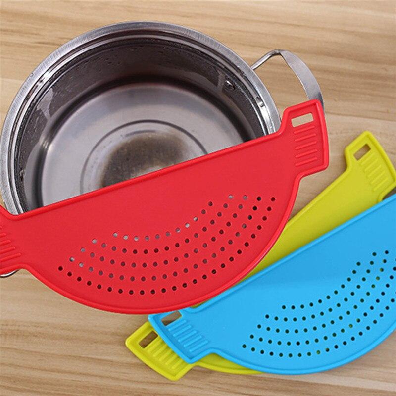 Промывка риса гаджет лапша спагетти бобов дуршлаги и ситечки кухонные фрукты овощи инструмент против протекания кухонные аксессуары