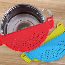 Aparelho de lavagem de arroz, de macarrão, espaguete, fachos e copos, ferramenta de cozinha anti-derramamento, acessórios de cozinha