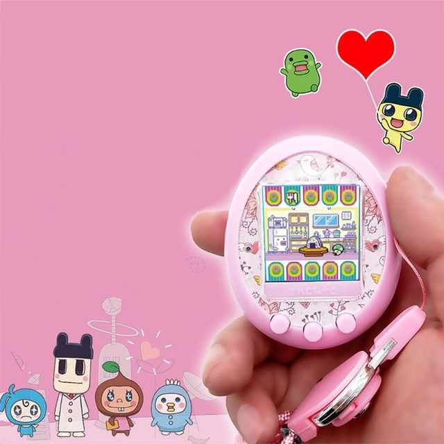 Nostalgic 90S Tamagotchi Virtual Cyber Pet Toy Funny Digital HD Color Screen