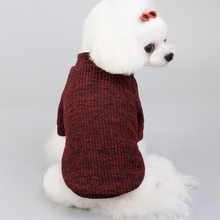 Dog Clothes For Small and Medium Cat Sweater Clothing Pet Cats Chihuahua Warm Dogs Jacket Autumn Winter Puppy Coat