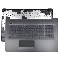 Original NEW For HP 17 CA 17 BY Laptop Palmrest Upper Case With Touchpad and Keyboard Grey 6070B1308103 Palmrest Shell