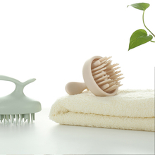 Shampoo brush sonic massage care shampoo instrument scalp lazy shampoo artifact comb Sonic massage shampoo brush Wet and dry