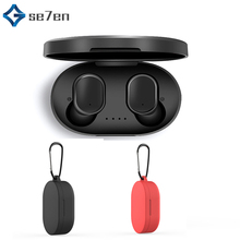 TWS Bluetooth 5.0 Earphone for Xiaomi Mi Redmi AirDots Wireless Earphone with Carry cover for Xiaomi Mi Redmi Airdots