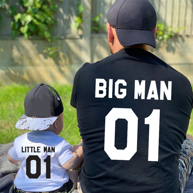 Dad And Son Matching Tees