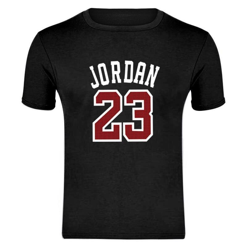 23 T Shirt 2019 Fashion Printed Cotton Short Sleeve Couple T Shirt Design Jordan Man's T-shirt O-Neck Shirt Asian Size S-XXXL
