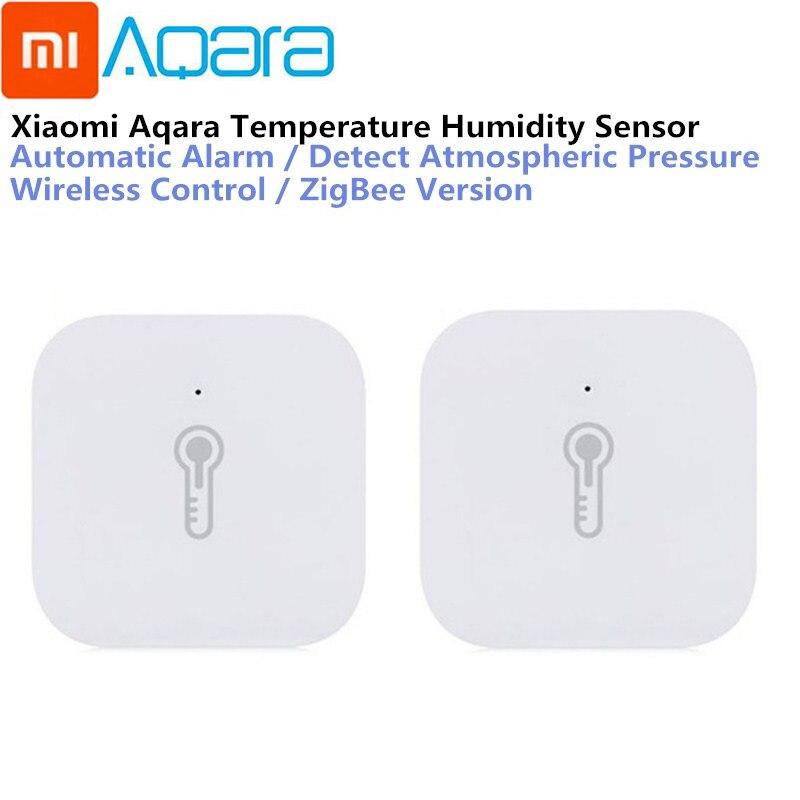 Xiao mi mi aqara temperatura hu mi dity sensor de pressão ar ambiente mi jia casa inteligente zigbee controle sem fio por mi casa gateway