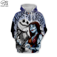 Corpse Bride Sally Jack Skelling print Men 3d Hoodies skull Halloween costumes women Sweatshirt tshirt pullover Christmas zipper майка print bar jack skull