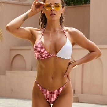 Sommer Bikini Brasilia Bikini Bademode Push-Up Badeanzug 1