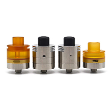 ULTON Parvum DTL/Mtl RDA 22mm with 3 caps Rebuildable Dripping atomizer for mech mod Electronic Cigarette стоимость