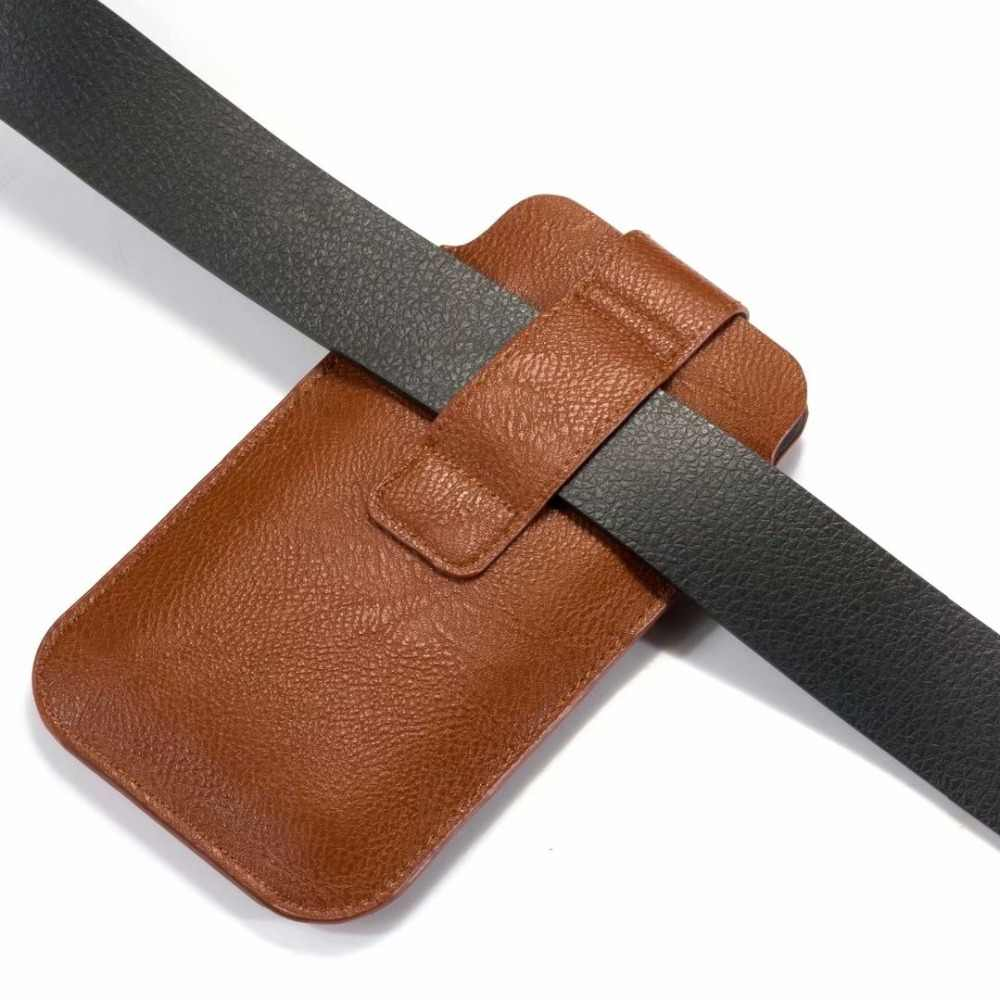 Voor Huawei Mate 20X5G P30 Pro Honor Note 10 8S 9X nova 5 P Smart 2019 Case cover PU Leather Pull Tab Sleeve Pouch Telefoon Gevallen