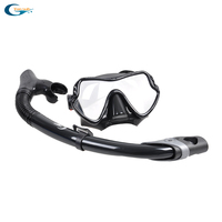 Silicone diving mask scuba mask underwater swimming Goggles Dry Snorkel Tube Dive Set Men Women Diving Equipment Free Shipping