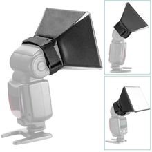 Universal Foldable Flash Softbox Diffuser Camera Photo Speedlight Soft Box Kit Tool for Nikon Canon universal inflatable type plastic flash speedlight diffuser