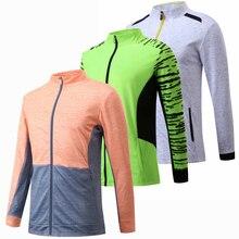 Теннисная куртка на молнии для женщин/мужчин, куртка для бадминтона, куртка для бадминтона, теннисная куртка для бега, рубашка с длинными рукавами, куртки для настольного тенниса