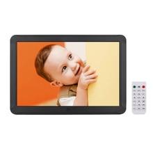 8 дюймов светодиодный цифровой настольная фоторамка электронный альбом 1280x800 HD 16:9 Дисплей поддерживает музыку фото/видео плеер/Будильник/C