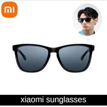 الأصلي شاومي النظارات الشمسية Mijia تاك الكلاسيكية مربع نظارات الرجال والنساء الاستقطاب العدسات الربيع الصيف الخريف السفر القيادة
