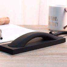 Телефон в ретро-стиле гарнитура 3,5 мм PC Comtuper микрофон с базой для мобильного телефона