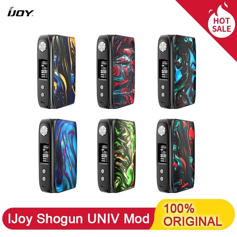 Electronic Cigarettes Box Mod IJoy Shogun Univ 180W Vape Mod Powered By Dual 18650 Battery UNIV Chip-Set Vaporizer VS Drag 2