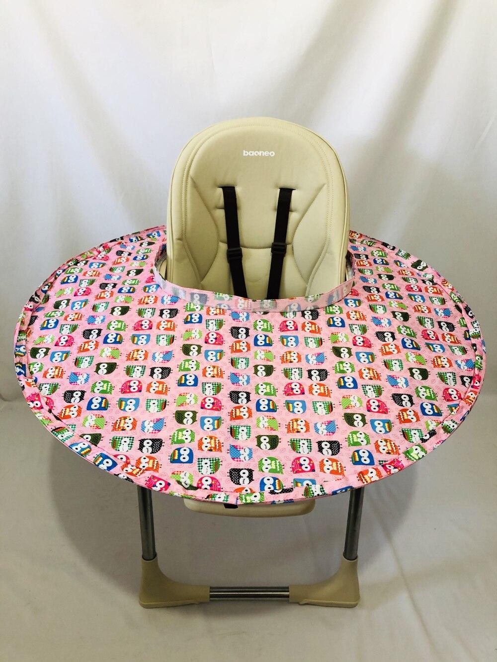 6 цветов ресторанное и домашнее детское блюдце для кормления, чехол на стульчик для кормления, зародыши предотвращает падение еды и игрушек на пол - Цвет: Owl Saucer