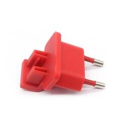 Czerwona wtyczka JBL UK/EU + kabel USB do JBL przenośne głośniki bluetooth F5V 2.3C 1U|Ładowarki|Elektronika użytkowa -