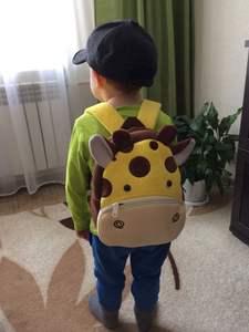 Boys Backpacks Schoolbag Kindergarten Animal Plush Girls Children Cartoon 3D