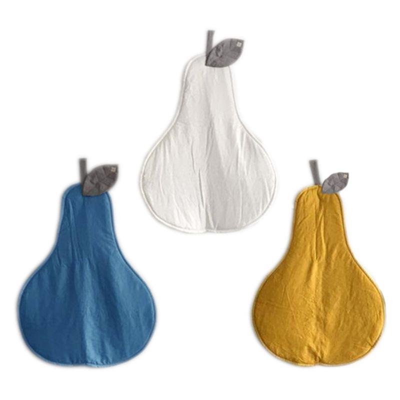 Cute Pear Shaped Baby Crawl Pad Cushion Soft Crawling Play Mat Newborn Carpet For Kid Children Room Decor Supply