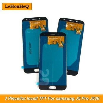 3 Piece/lot LCD For Samsung Galaxy J5 2017 J530 J530F LCD J5 Pro J530 Display Touch Screen Digitizer Assembly Incell TFT 100% tested lcd for samsung galaxy j530 lcd j5 2017 display touch screen lcd digitizer assembly for samsung j530f j5 pro 2017