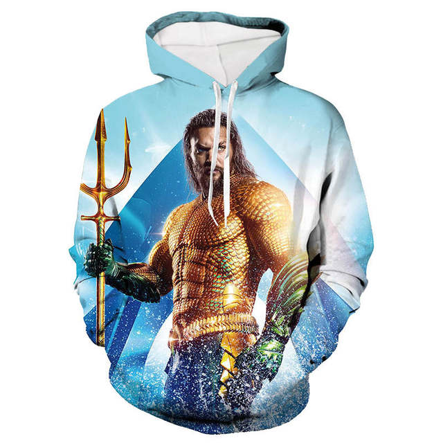 US $24.33 |3D print hoodies pullover hooded sweatshirts for men women lovers 2019 autumn fashion hip hop street wear printing hai wang wei|Hoodies &