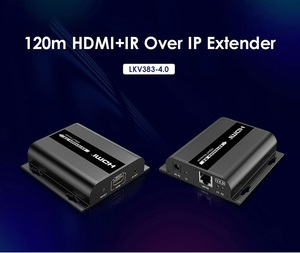 Image 2 - *Extra Transmitter*, For LKV383 V4.0 HDbitT HDMI 1080P 120m Extender LAN Repeater over RJ45 Cat5e/6,Compatible with LKV373A V3.0