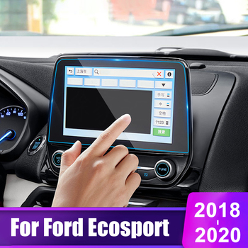 Car Screen Protector Film For Ford Ecosport 2018 2019 2020 Tempered Glass Car GPS Navigation Screen LCD Protective Film Sticker image