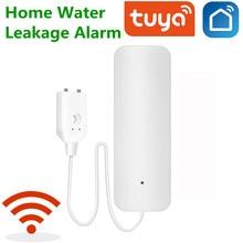 Tuya alarma de Casa fugas de agua alarma independiente WIFI fuga de agua Detector Sensor de alerta de inundación de desbordamiento de sistema de alarma de seguridad