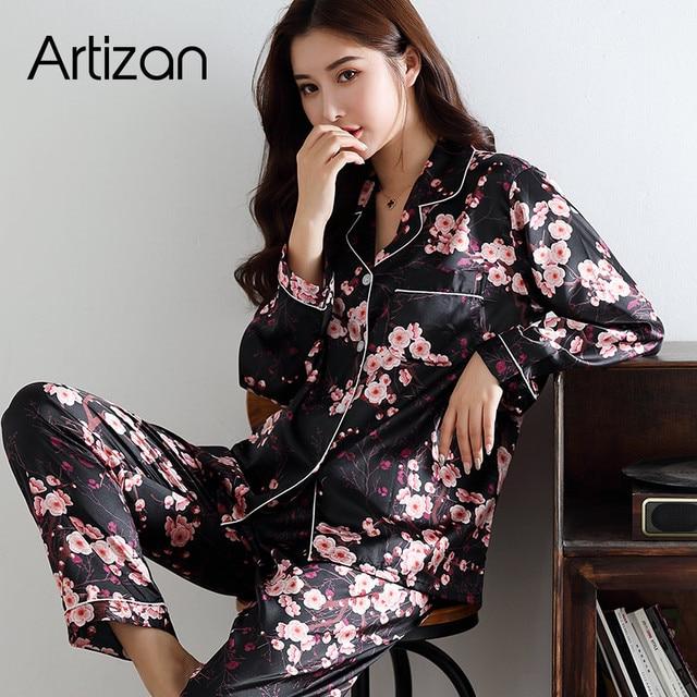 Comfortable Silk Pajamas 2