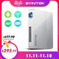 BYINTEK UFO R9 Smart Android WIFI Video Micro Tragbare DLP Mini LED 3D Projektor für Volle HD 1080P Hause theater Business Büro