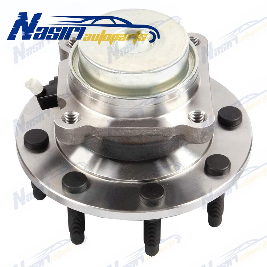 Front Wheel Bearing & Hub Assembly For 2003 2014 2015 Chevy Express Silverado Suburban GMC Savana 2500 3500 2WD ONLY