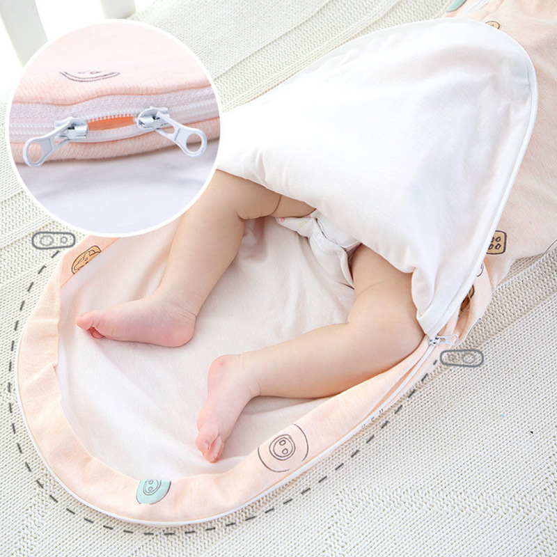 Neck-protection baby swaddle babies anti-shock sleeping bag Newborn baby care flat head pillow blanket swaddles cotton wrap | Happy Baby Mama