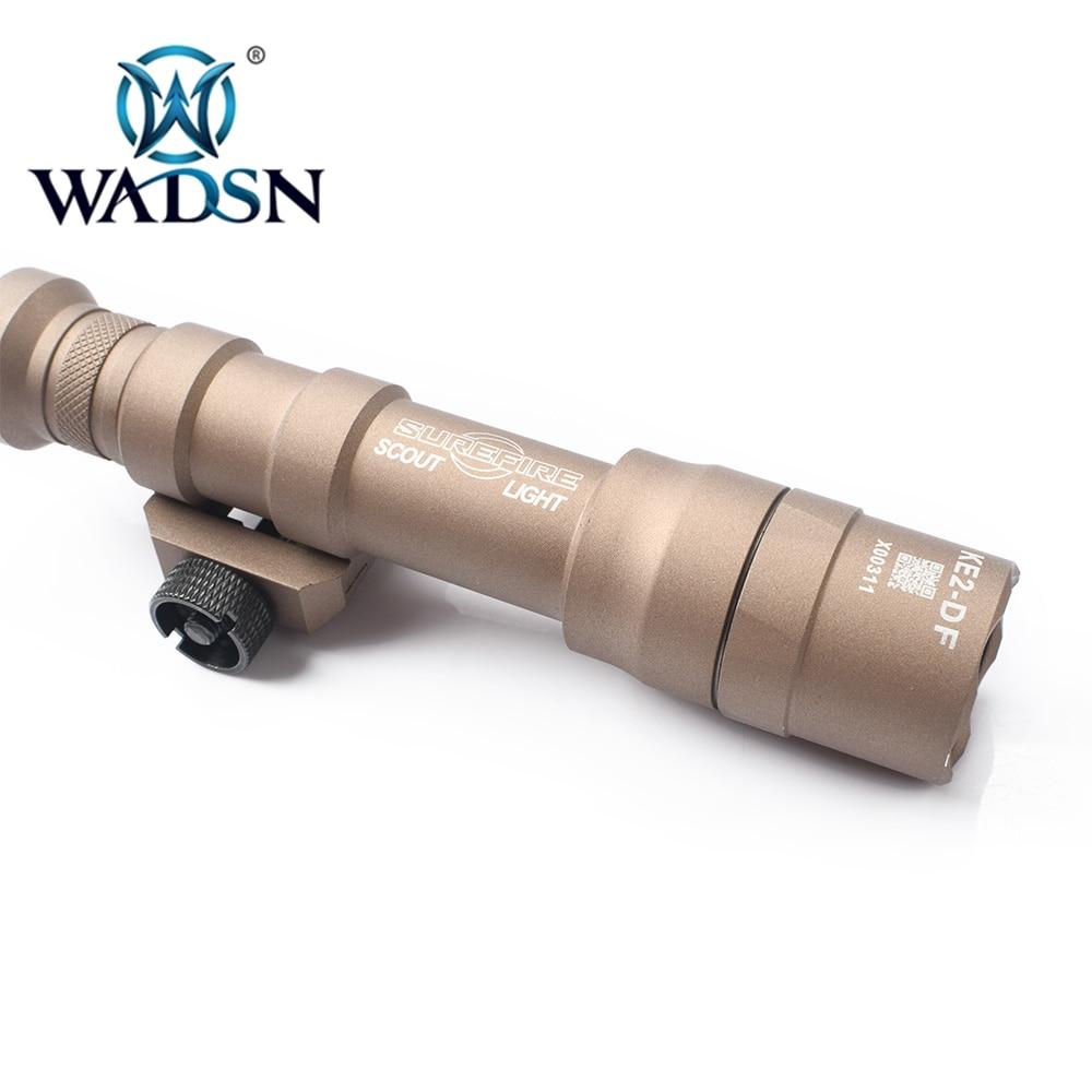 Wadsn airsoft surefir m600df duplo combustível scout