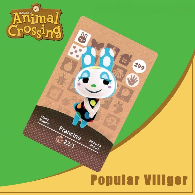 299 Animal Crossing Amiibo Card Francine Amiibo Card Animal Crossing Series 3 Francine Nfc Card Work For Ns Games Dropshipping