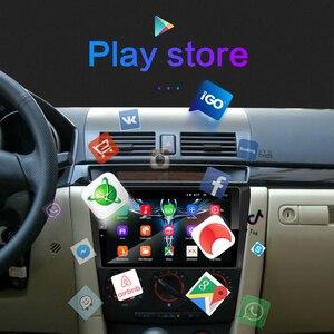 Image 4 - Para Mazda 3 2004 2013 maxx axela android 9,0 coche DVD GPS Radio estéreo 1G 16G WIFI mapa gratuito Quad Core coche 2 din reproductor Multimedia