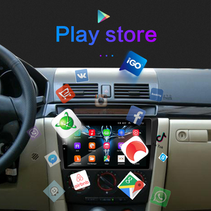Image 4 - Pour Mazda 3 2004 2013 maxx axela android 9.0 voiture DVD GPS Radio stéréo 1G 16G WIFI carte gratuite Quad Core 2 din voiture lecteur multimédia