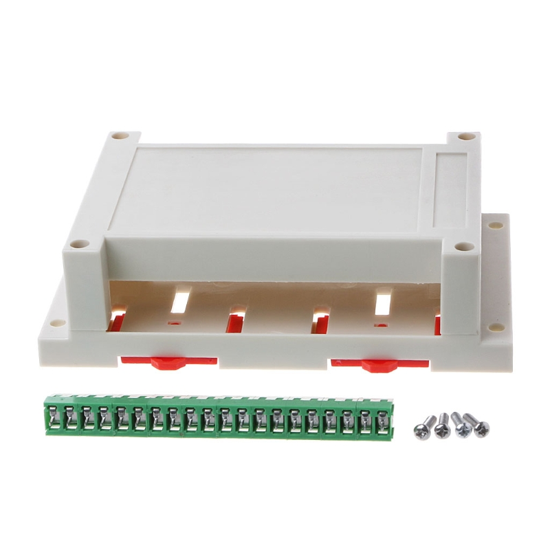 Industrial Plastic Instrument Din Electronic Rail Enclosure Box Case 145x90x40mm