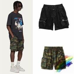 High Street Camouflage Represent Shorts Men Women 1:1 Multi Pockets Beach Sportswear Represent Shorts