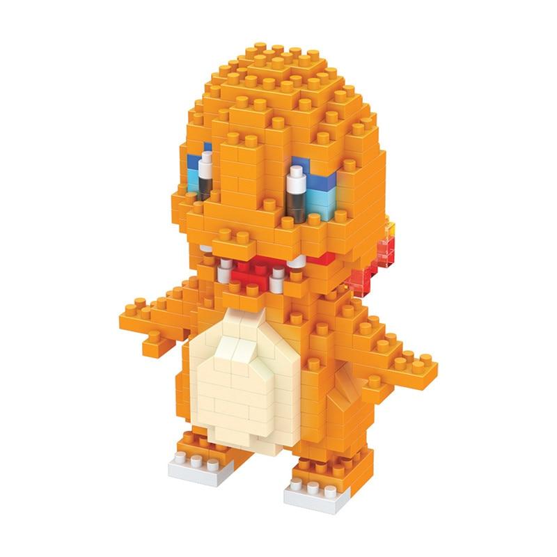 Pokemon Building Blocks Anime Figures Assembling Plastic Abs Diy Toys Creative Educational Model Toys for Children Boxed New 3