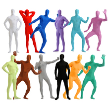 2019 Cosplay all-inclusive tights zentai Lycra onesies stage costumes Zentai Suit Custome for Halloween performance 24 colors