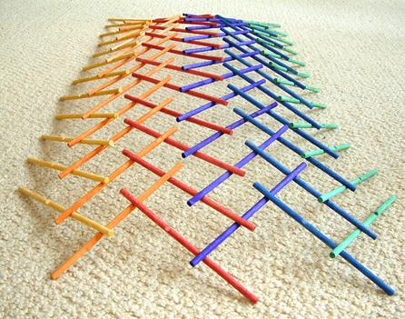 Wooden Leonardo Sticks Children's Logic Game Da Vinci's Theory Of Building Structure Logical Game Bar Hold Wood Building Toys