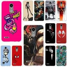 Suave de silicona TPU caja del teléfono para LG K4 K7 K8 K10 2017 V10 V20 V30 G2 G3 Mini G4 G5 g6 Stylus Nexus 5X héroe icono arte abstracto