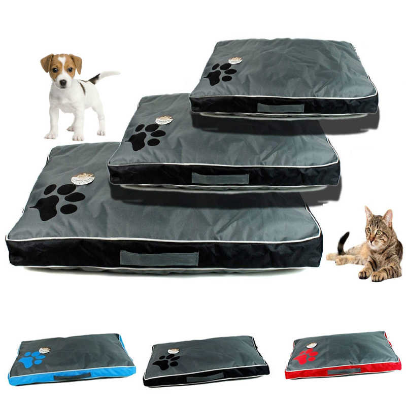 Dog Beds Pet Dog Cat Bed Dog Cat Hand Wash Rest Blanket Breathable Pet Cushion Soft Warm Sleep Mat House For Dogs Cats