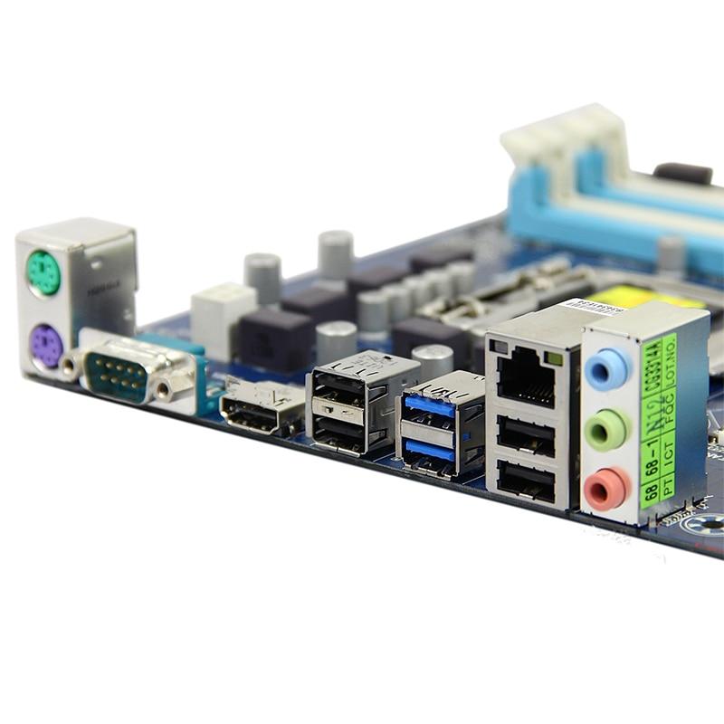 For Gigabyte GA-Z77P-D3 Desktop motherboard MB Z77 LGA 1155 ATX DDR3 32GB SATA3.0 USB3.0 100% fully Tested Free shipping 3