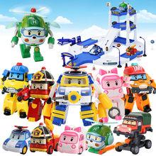 Silverlit Robocar Korea Robot dzieci zabawki transformacja Anime figurka Super Wings Poli zabawki dla dzieci Playmobil Juguetes tanie tanio Model Unisex 12 cm 10 cm Do not eat 5-12 cm Pierwsze wydanie 13-24 miesięcy 2-4 lat 5-7 lat 8-11 lat 12-15 lat Dorośli