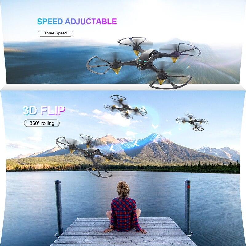 Eachine E38 WiFi FPV RC Drone 4K Camera Optical Flow 1080P HD Dual Camera Aerial Video RC Quadcopter Aircraft Quadrocopter Toys 4