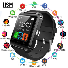 2019 New Fashion U8 Bluetooth Smart Watch Men Women For Samsung For Huawei for HTC for LG for Xiao mi Android Phone Smartphones u8 smart bluetooth wrist watch 3 colors fashion men women watch u watch for android samsung s4 note2 3 htc lg sony