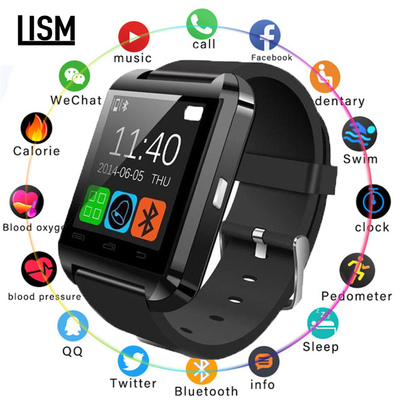 2019 New Fashion U8 Bluetooth Smart Watch Men Women For Samsung For Huawei for HTC for LG for Xiao mi Android Phone Smartphones
